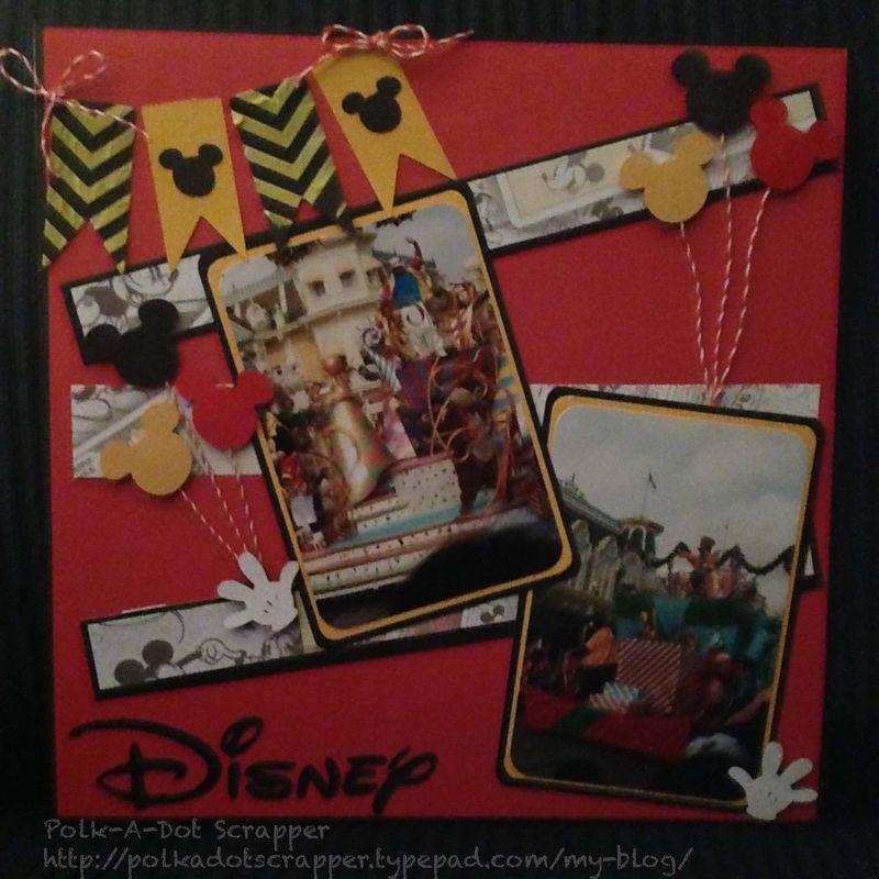 Disney Watermarked photo