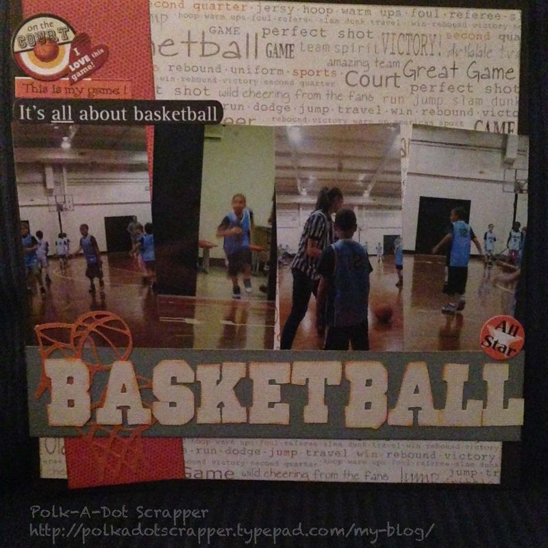 Basketball Watermarked Photo